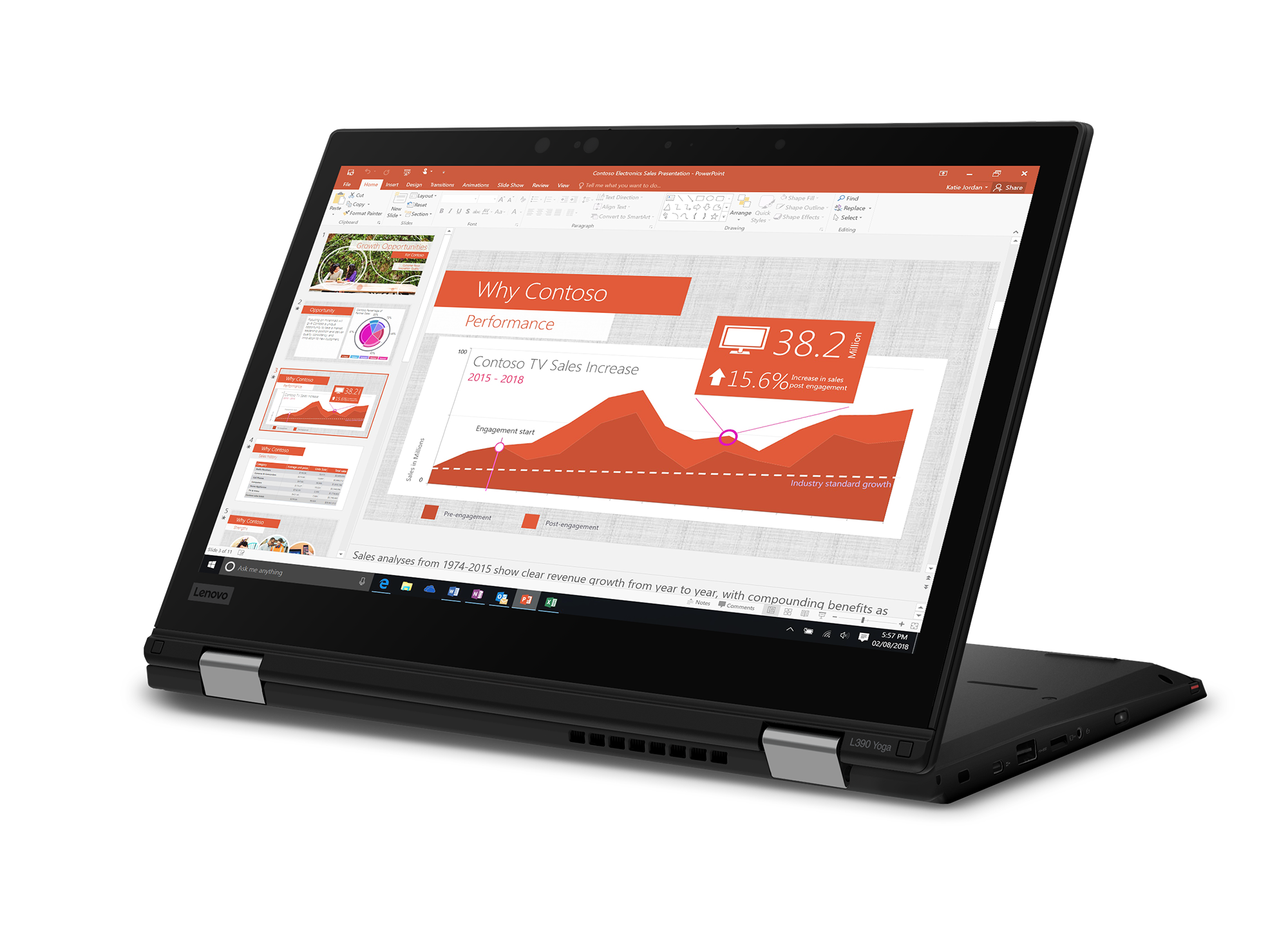 The Lenovo ThinkPad L390 and L390 Yoga are ready for