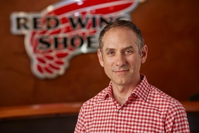 Image of Marc Kermish, chief information officer at Red Wing Shoe Company.