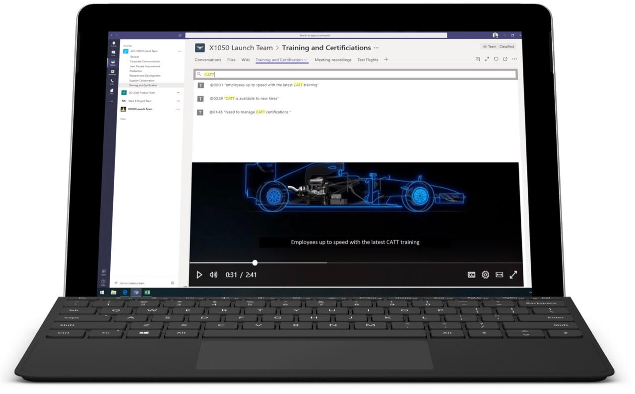 Microsoft Teams is leveraging AI to enhance productivity