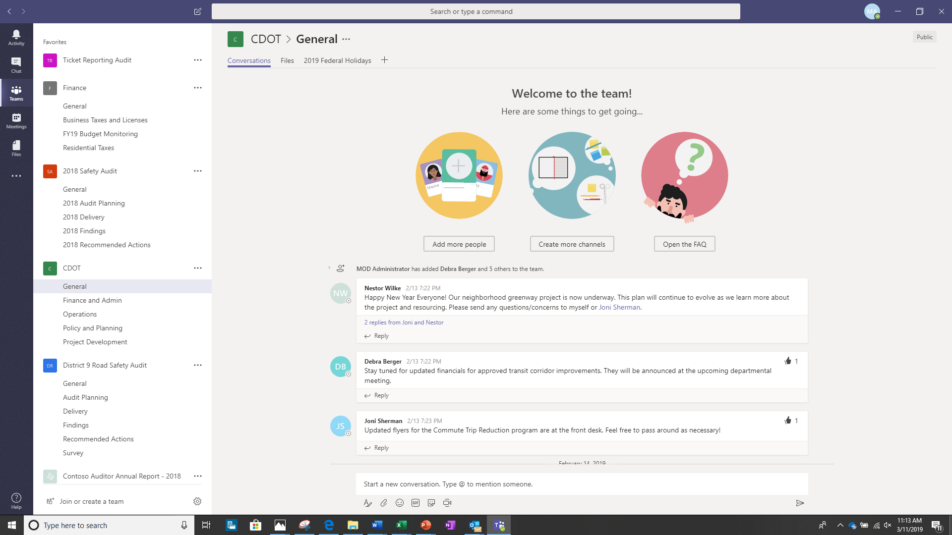 New teamwork and security capabilities for Microsoft 365