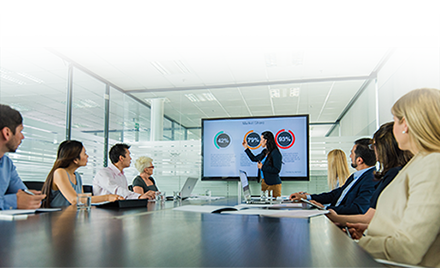 Image for: Image of a corporate meeting.