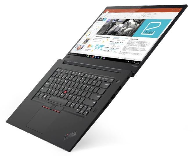Image of the Lenovo ThinkPad X1 Extreme.