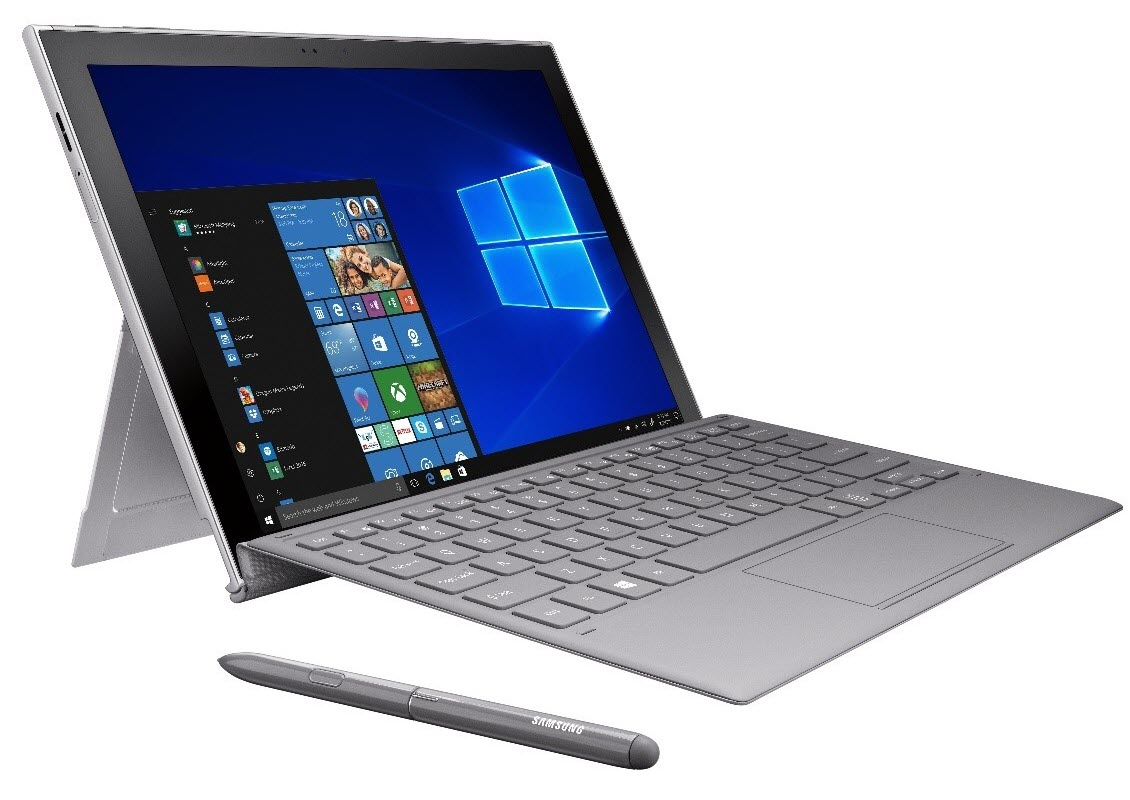 Image of the Samsung Galaxy Book2.