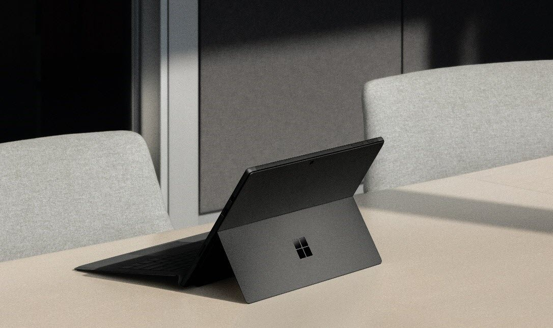 Image of the new Surface Pro 6.