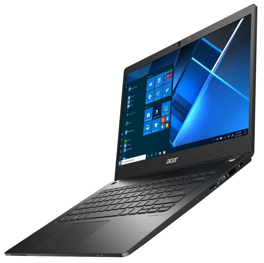 Image of the TravelMate P2 from Acer.
