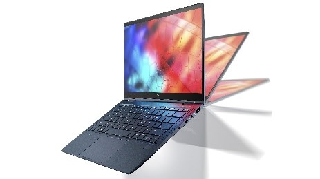Image of the HP Elite Dragonfly.