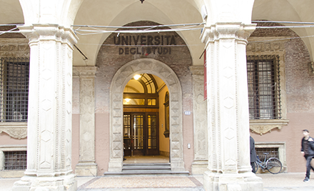 Image of the university of Bologna.