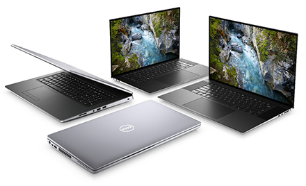 Image for: Collection of Dell laptops