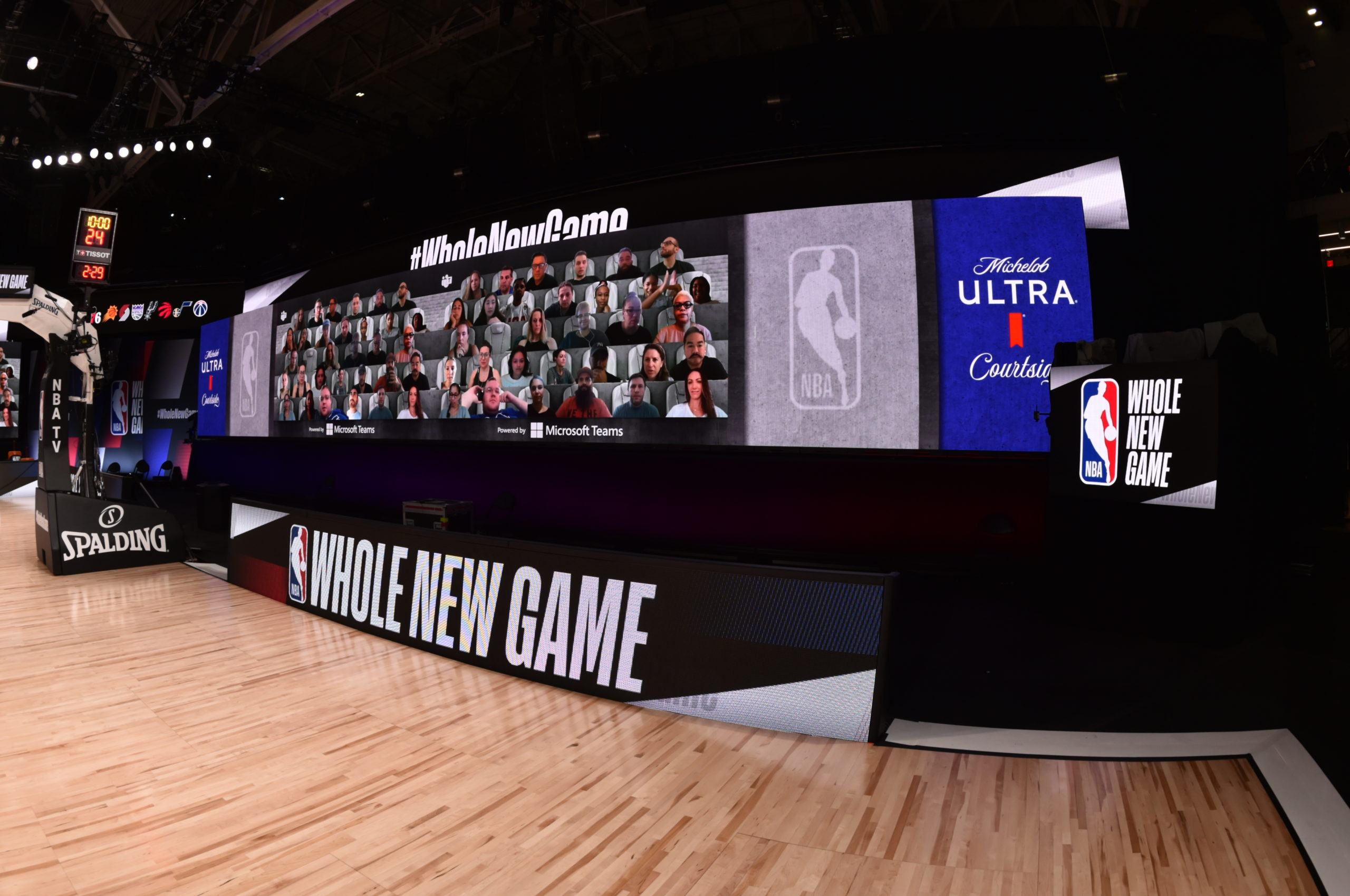 Microsoft and NBA will create 'virtual fans' by using AI