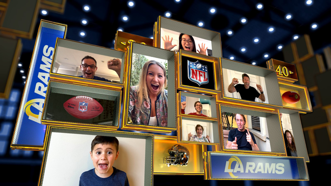 An image of the NFL Fan Mosaic Display.