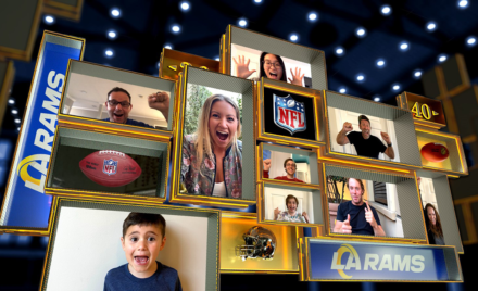 Image for: An image of the NFL Fan Mosaic Display.