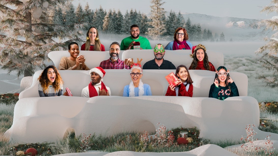 Office Christmas Party Fashion 2021 New Ways To Celebrate Holiday Festivities With Microsoft Teams Microsoft 365 Blog