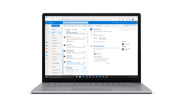 Updated to Outlook for web