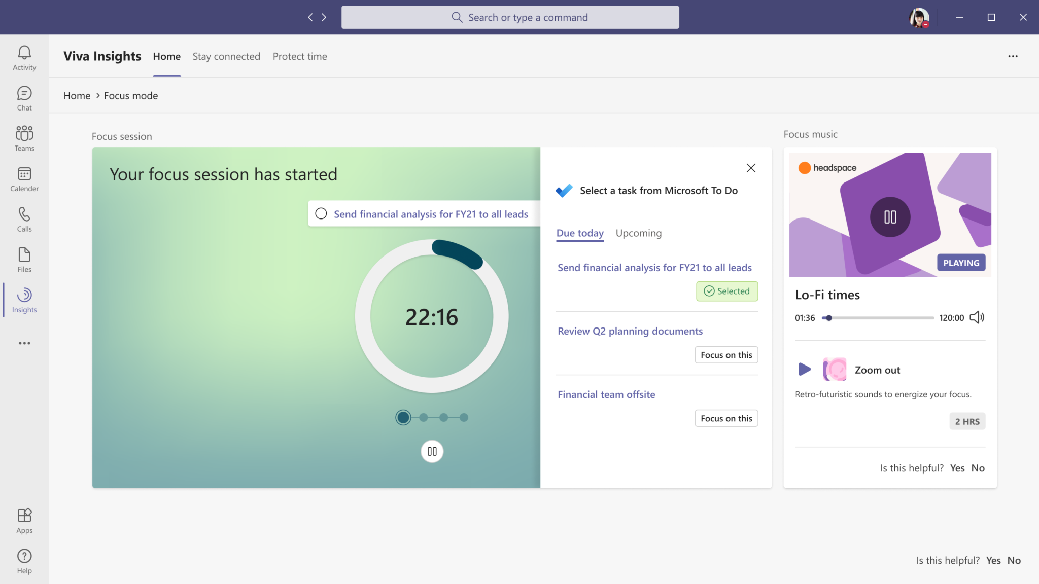 Viva Insights in Microsoft Teams to support hybrid work