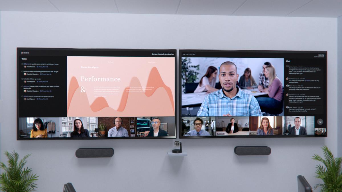 New hybrid work innovations in Microsoft Teams Rooms, Fluid, and Microsoft Viva | Microsoft 365 Blog