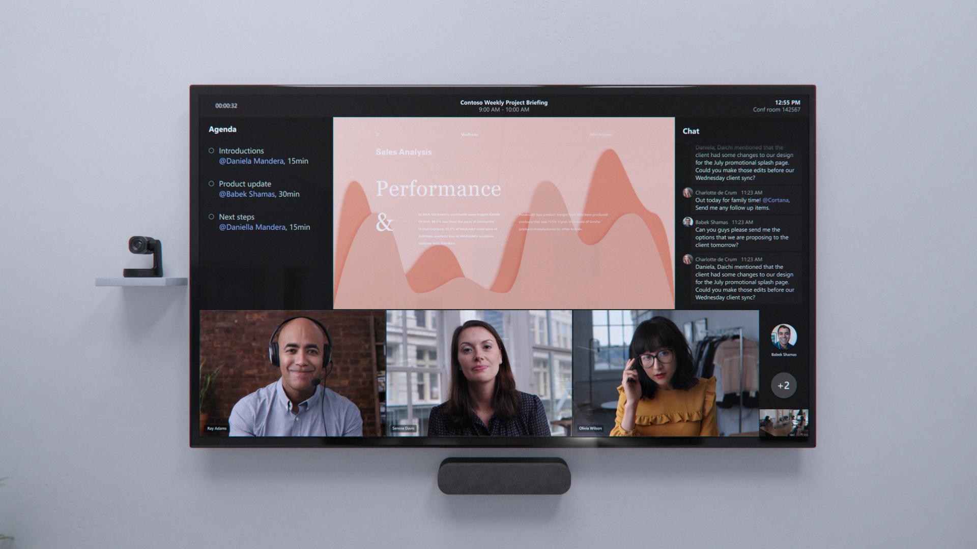 Microsoft Teams meeting rooms for hybrid work
