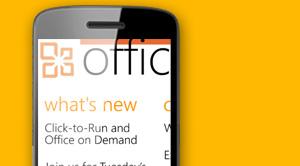 Office Blog Windows Phone App