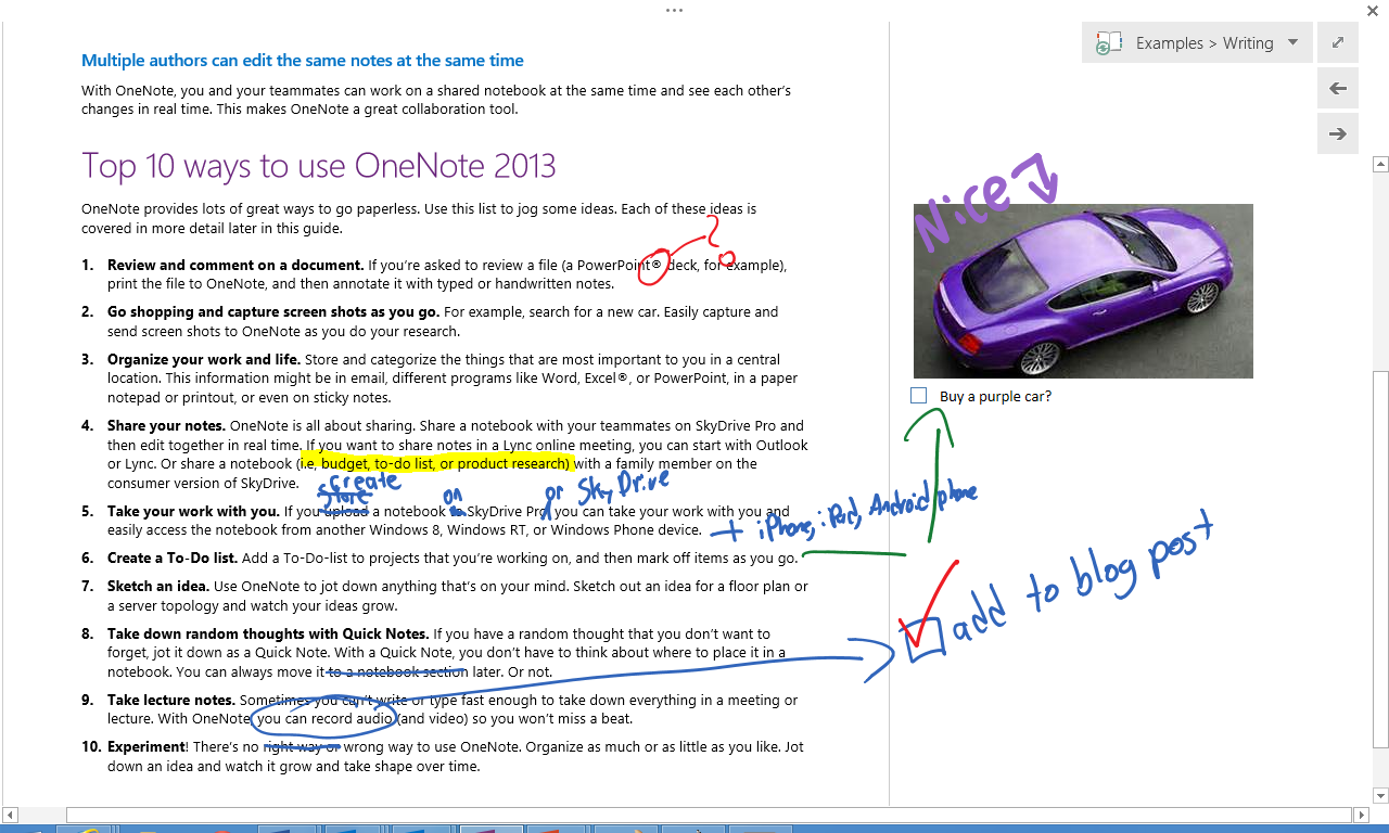 top 10 things you didn t know about onenote microsoft 365 blog