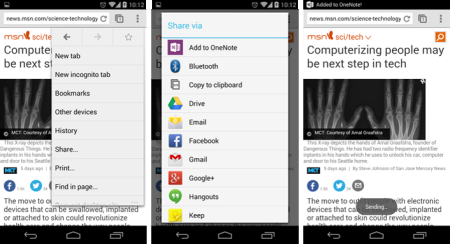 OneNote for Android update: Do more in less time - Microsoft 365 Blog