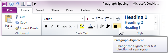 how to use double spacing in word