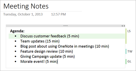 using onenote to present your ideas in meetings microsoft 365 blog