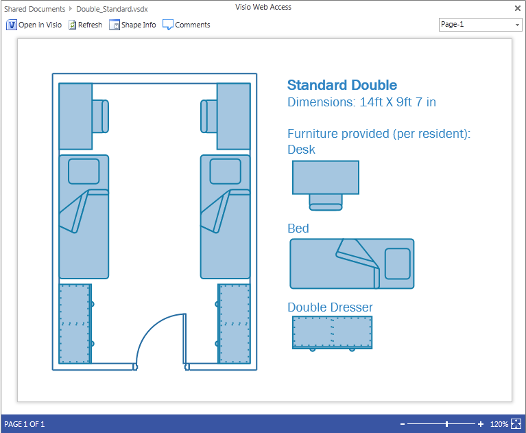 Visio Full Page web access
