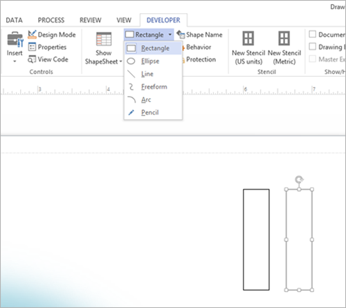 how to create a data dictionary in visio