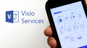 Visio Services on a phone