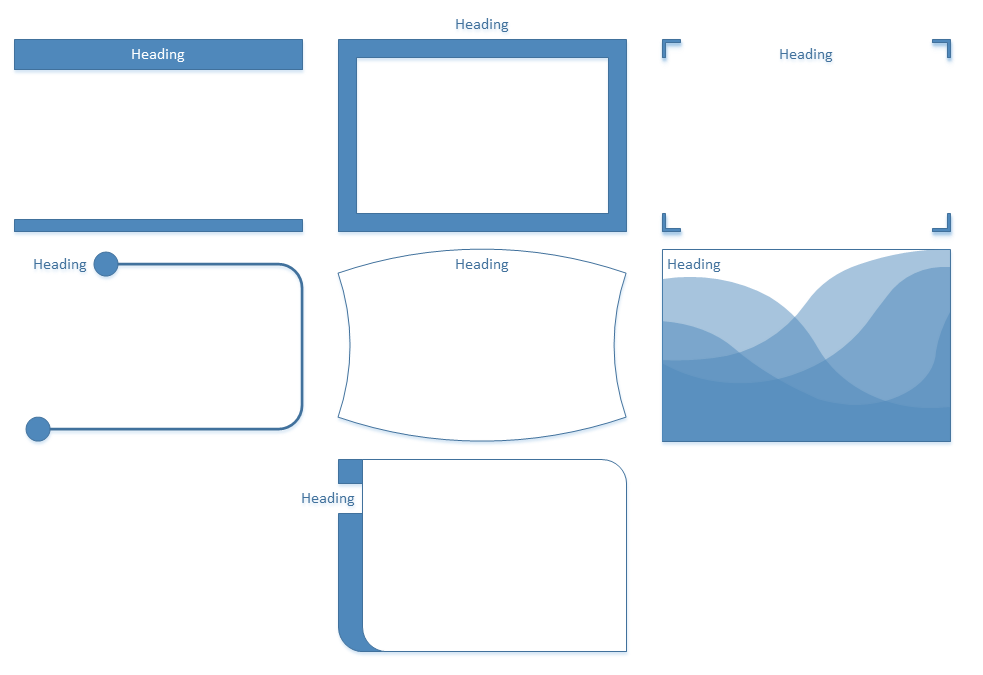 The new containers in Visio
