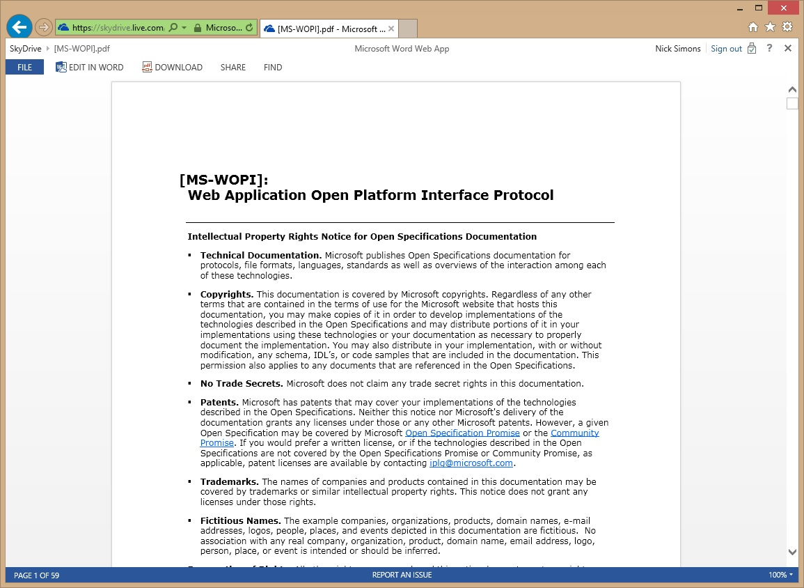 PDFs in the Word Web App - Microsoft 365 Blog