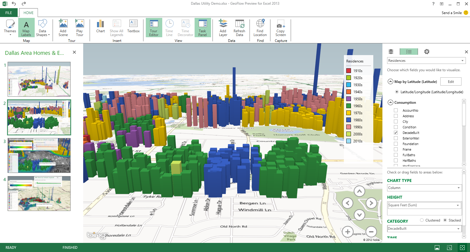 Dallas Utilities: Electricity seasonal use simulation using ...