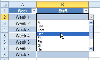 Tricks for creating dropdown lists that let you select multiple