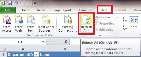 Plug into your data connecting excel to an access database customized refresh ibookread ePUb