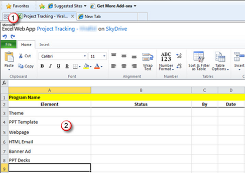 Use Excel To Track Your Projects Microsoft 365 Blog