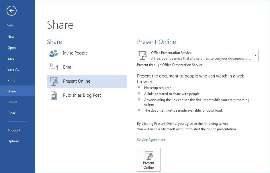 open word document online