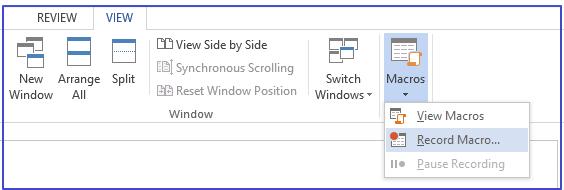 Macros Microsoft Word Office 365