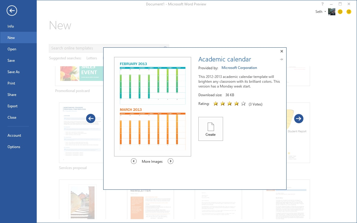 Starting Off Right Templates And Built In Content In The New Word
