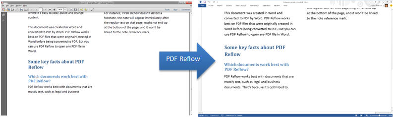 Unlock pdfs with word 2013 microsoft 365 blog screenshot of a pdf that has gone through the reflow feature and opened in word stopboris Images