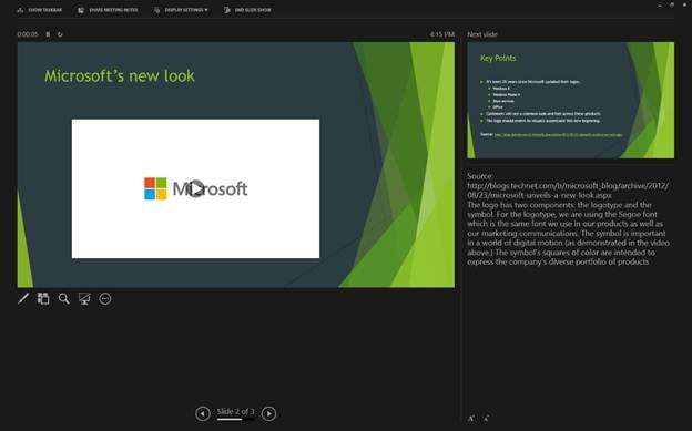 powerpoint 2013 present a powerpoint file online microsoft 365 blog