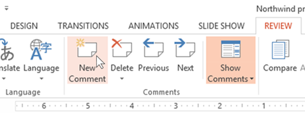 powerpoint 2013 comments making it easier to collaborate on