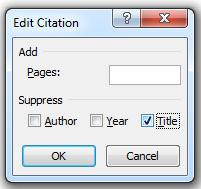Image of Edit Citation dialog box