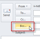 Add BCC in Outlook