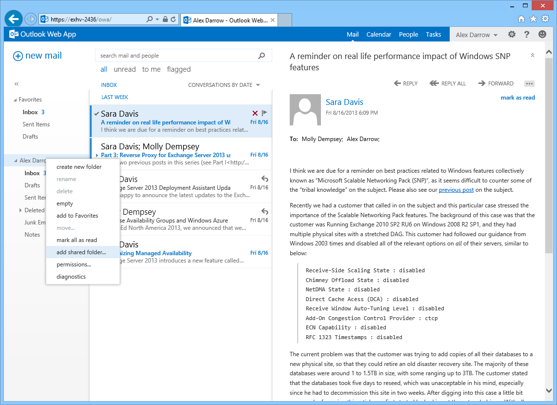 Configuring delegate access in Outlook Web App - Microsoft