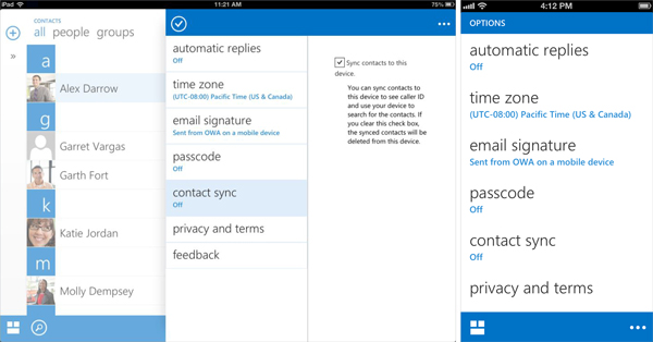 OWA for iPhone and OWA for iPad - Microsoft 365 Blog