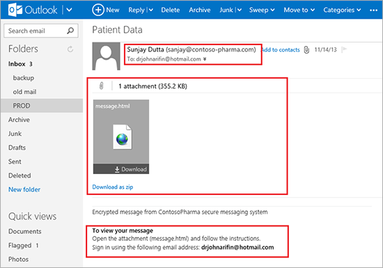 Introducing Office 365 Message Encryption: Send encrypted