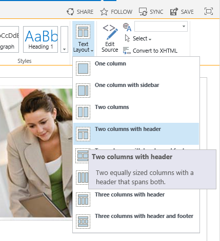 how to change page orientation in publisher 2013