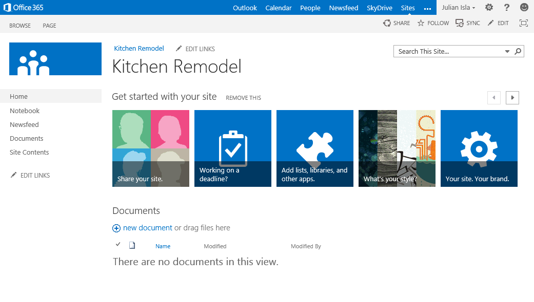 The New Team Site Microsoft 365 Blog