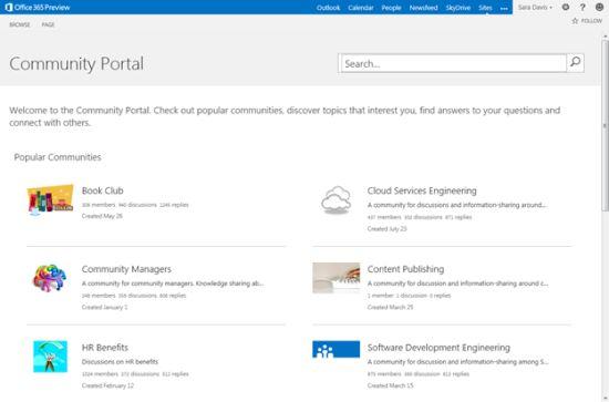 sharepoint portal templates