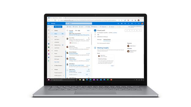Mise à jour dans Outlook pour le web