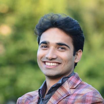 Portrait of Raaz Dwivedi